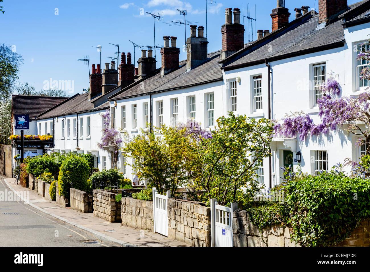 Beautiful houses old palace lane richmond upon thames london england