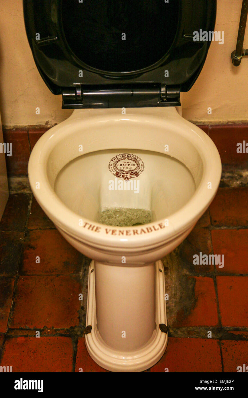 The Venerable Thomas Crapper And Son Original Toilet