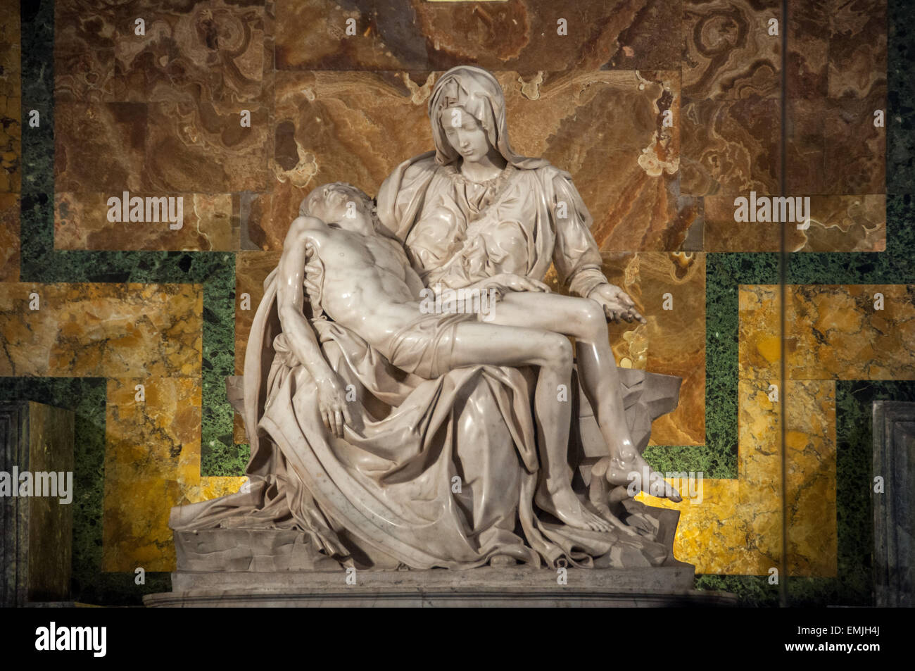 The body about the virgin mary