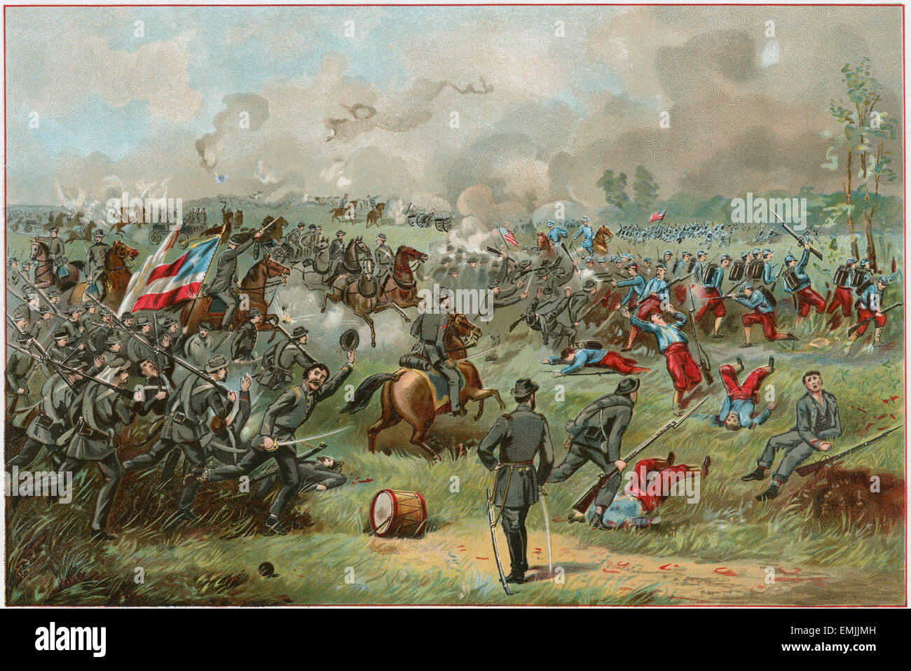 """Stonewall Jackson, at the Battle of Bull Run."", American ..."