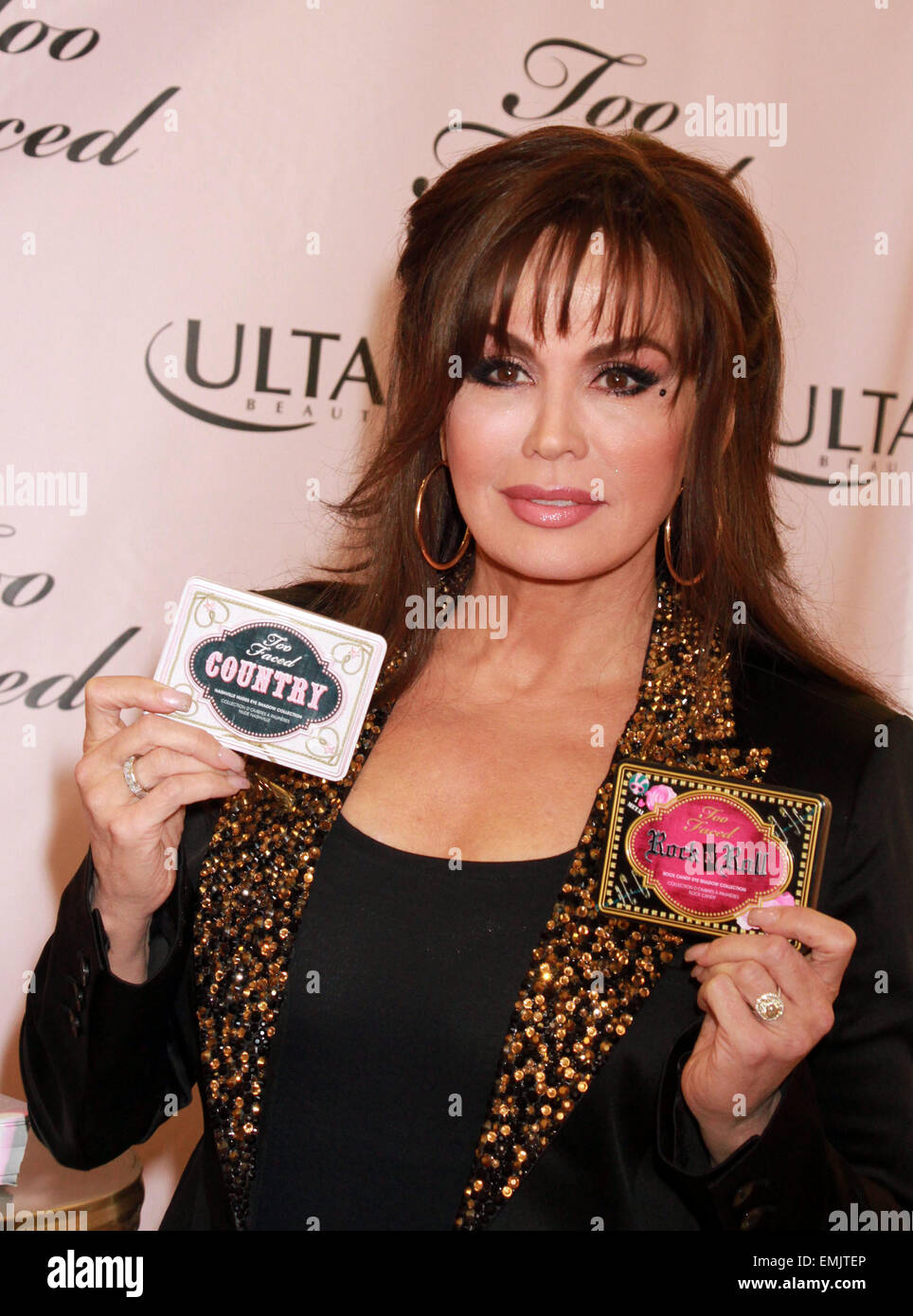 Marie Osmond promotes her cosmetic line \'Too Faced\' at Ulta Beauty ...