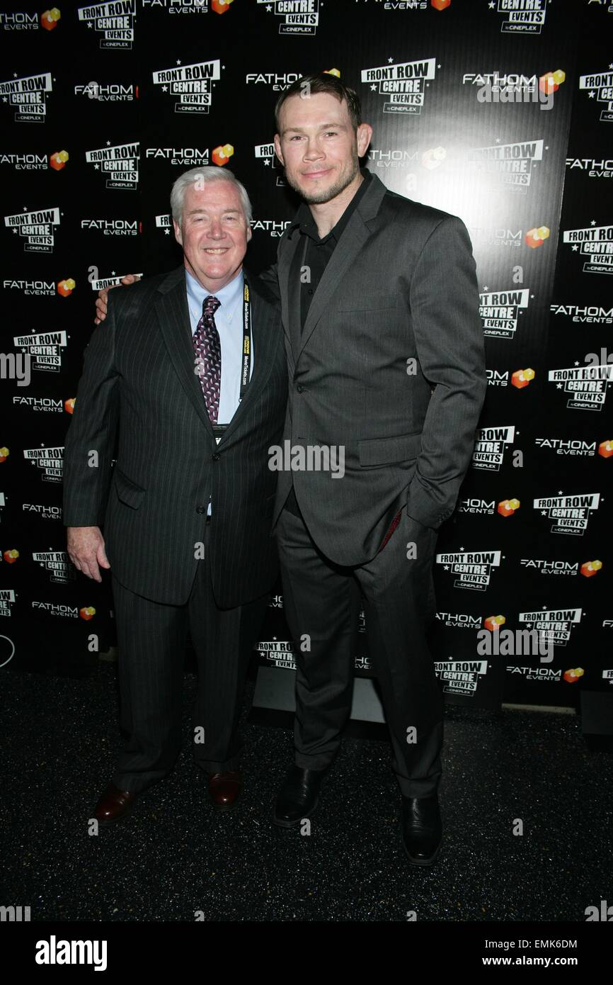 las vegas nv usa 21st apr 2015 john rubey forrest griffin at john rubey forrest griffin at arrivals for fathom events celebrates growth of event cinema at cinemacon 2015 rao s at caesars palace las vegas