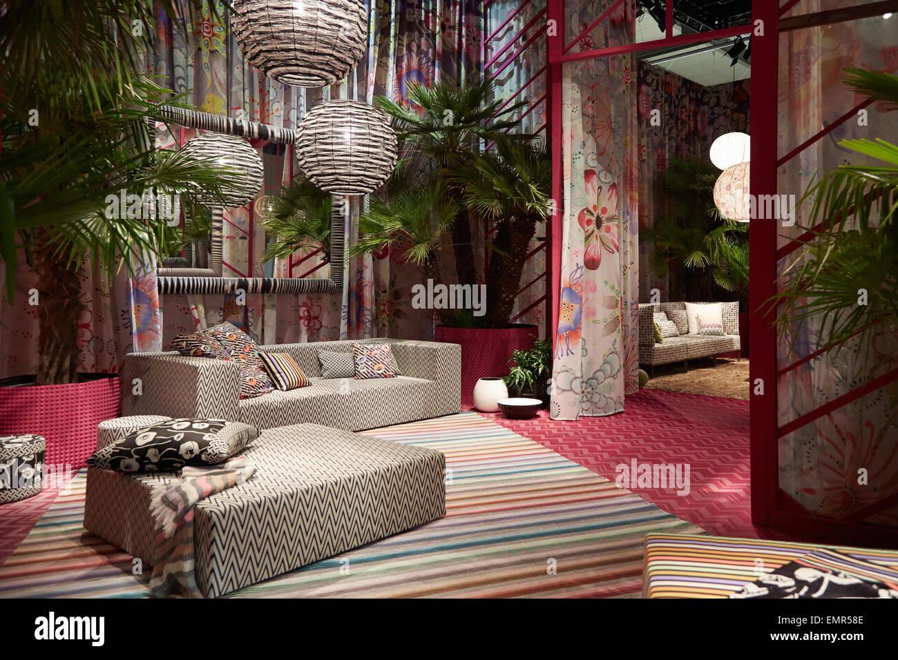 Milan italy april 14 milan design week missoni home for Milan design week