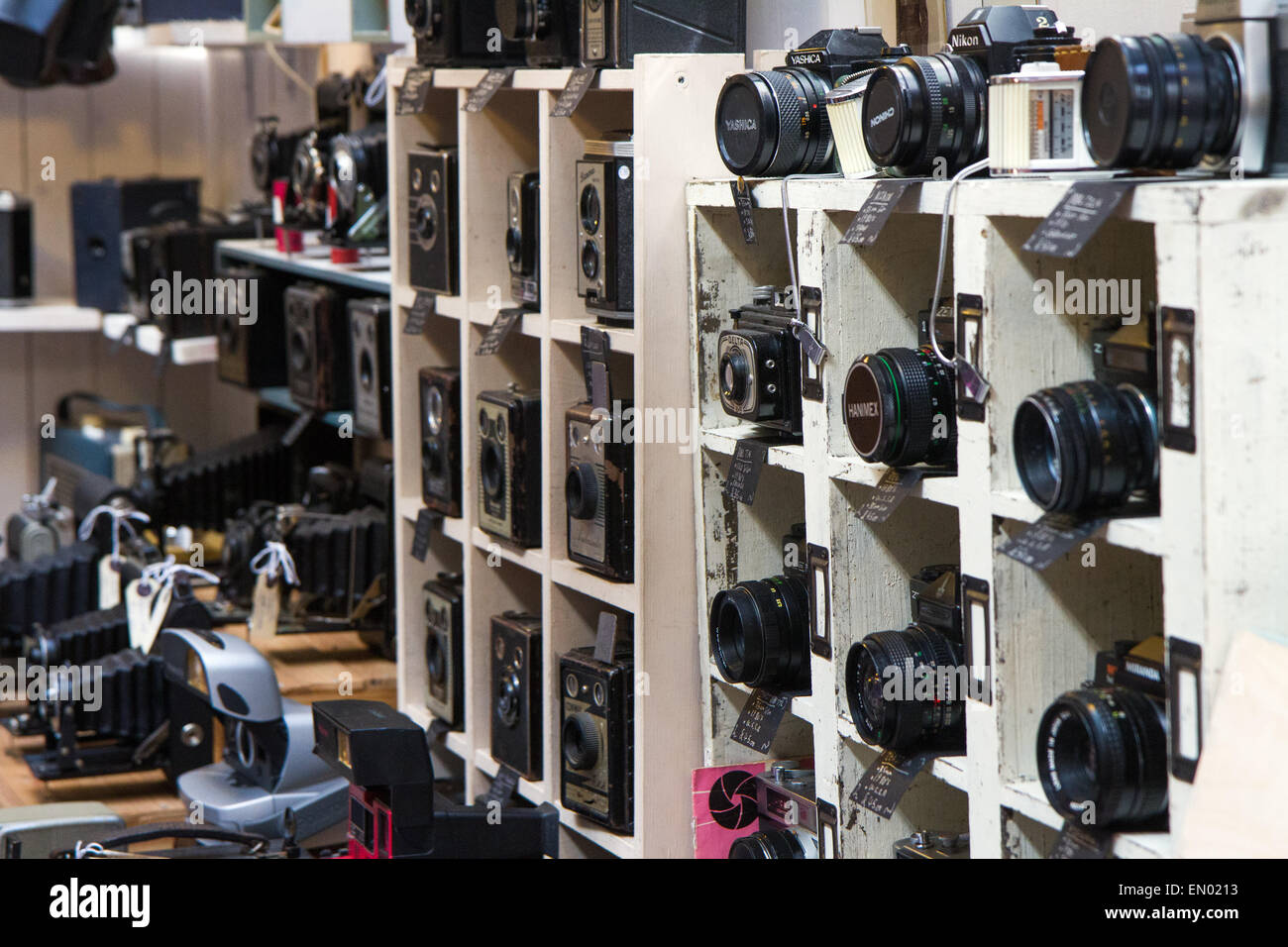 Camera Second Hand Dslr Cameras For Sale second hand cameras on sale at camden market london stock photo london