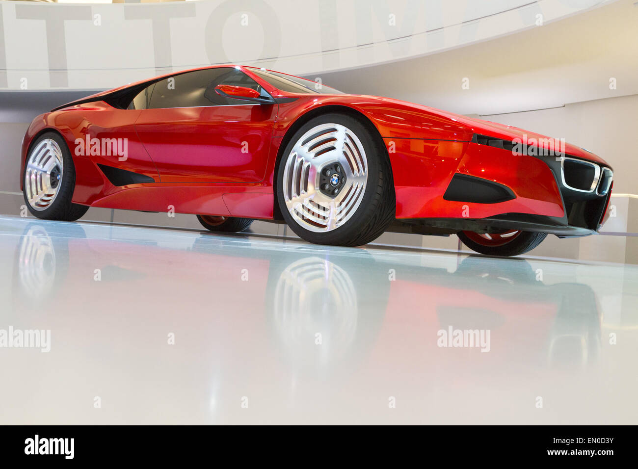 Bmw m1 homage at the bmw museum the m1 homage concept was launched in april