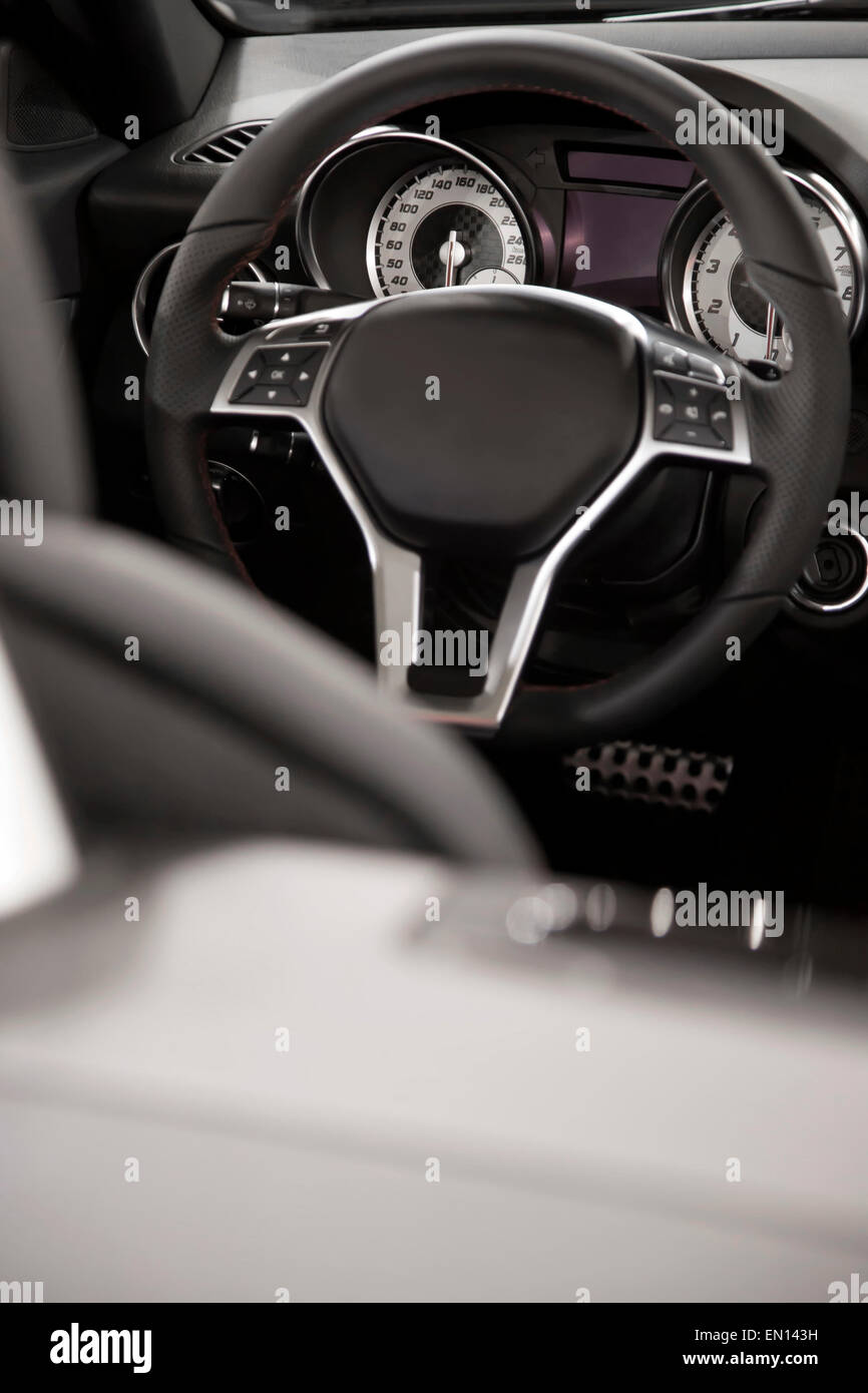 detail of the car interior stock photo royalty free image 81774437 alamy. Black Bedroom Furniture Sets. Home Design Ideas