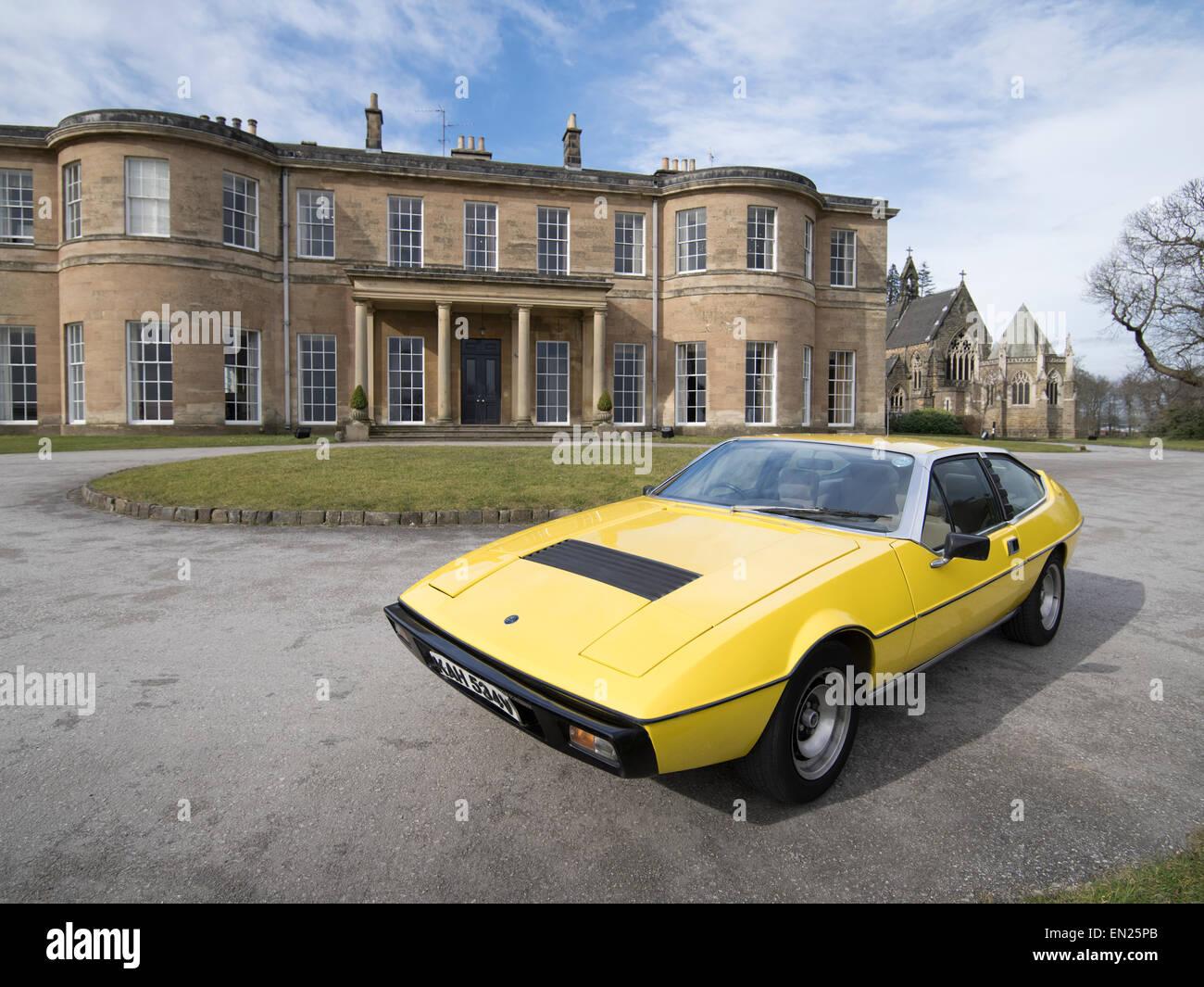 Lotus Eclat British Sports Car Rudding Park Hotel A Grade I - Sports cars harrogate