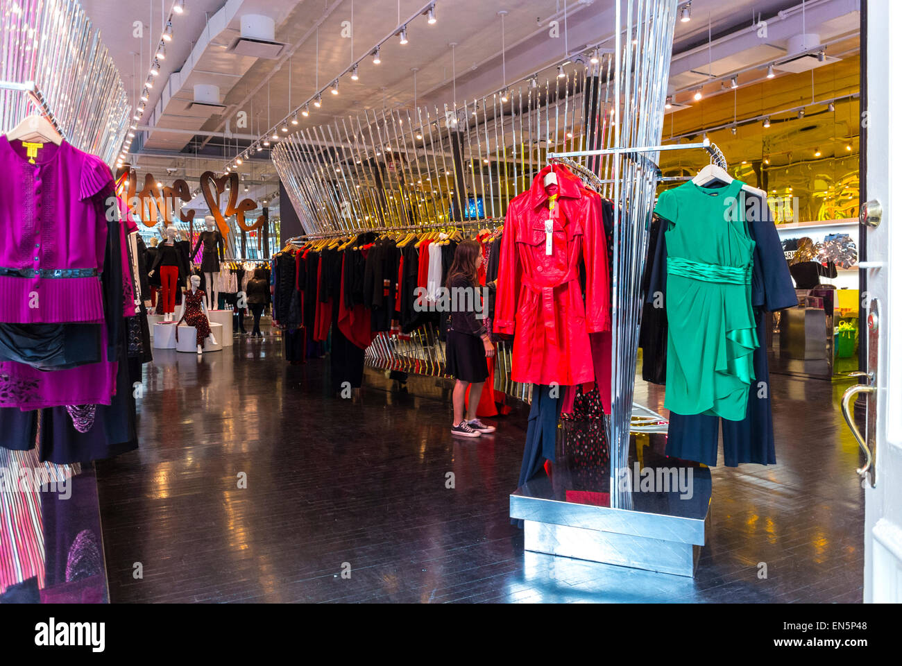 New york fashion clothing store