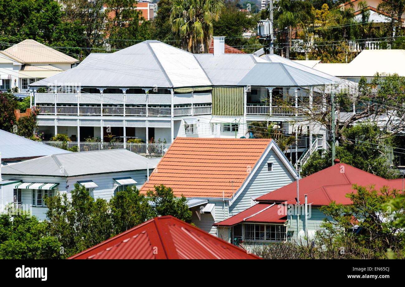 Queenslander Houses A Style Typical Of Older Suburbs Brisbane And Across Queensland Australia Wooden Homes Traditional Australian Architecture