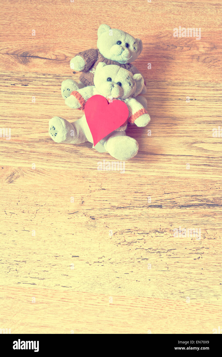 Teddy love day valentines bear bears valentine cute background teddy love day valentines bear bears valentine cute background romantic brown two concept vintage friendship couple wooden red voltagebd Image collections