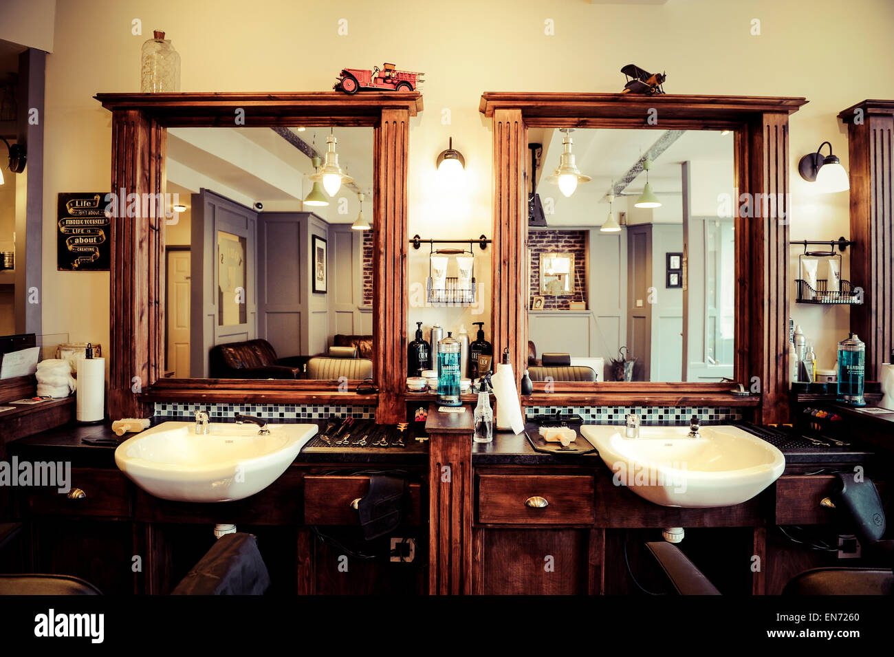 Barber Shop Design Ideas Exceptional Barbershop Decor 14 Barber Shop