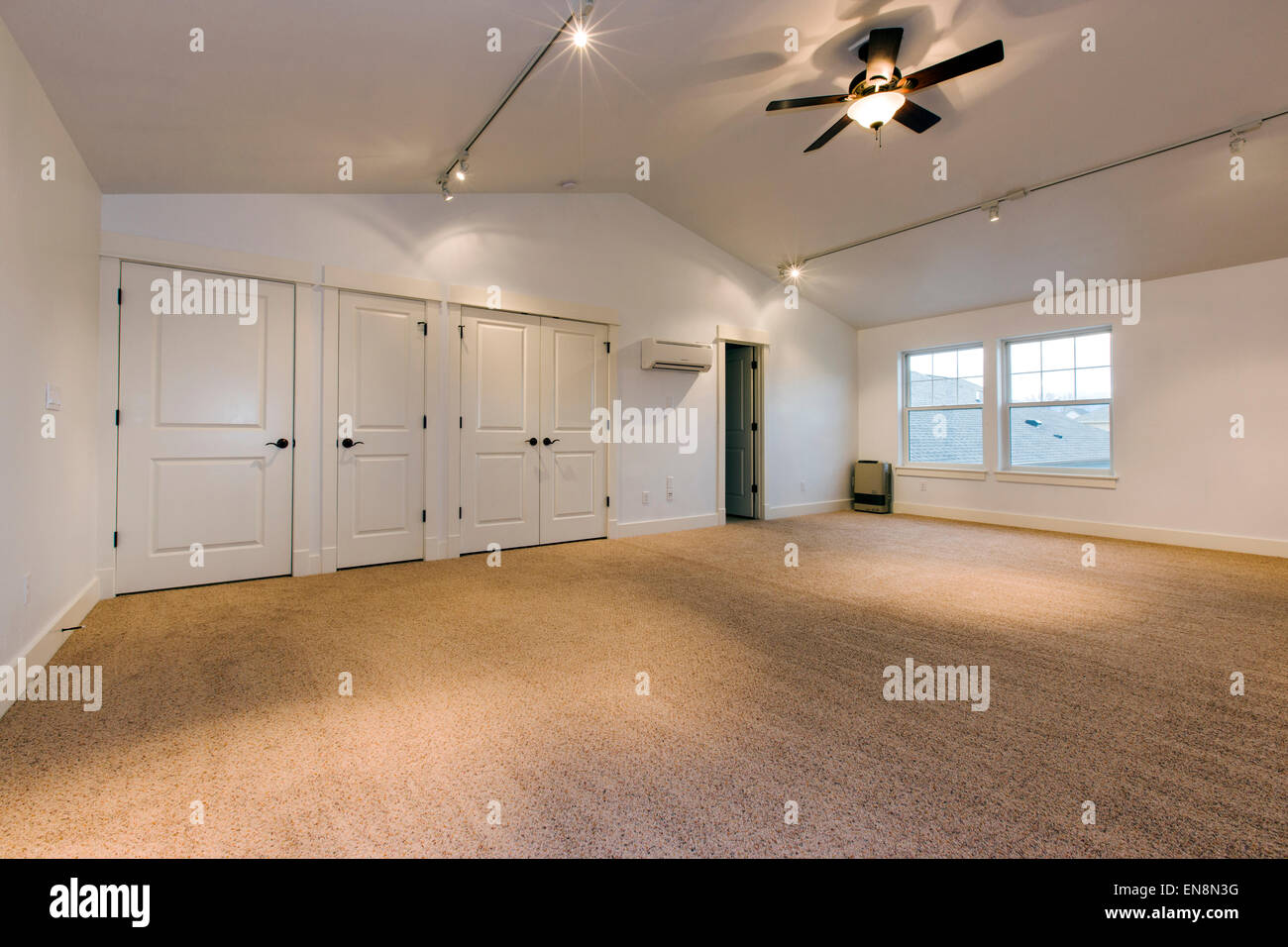 Home Office And Carriage House Built Over The Garage Of A