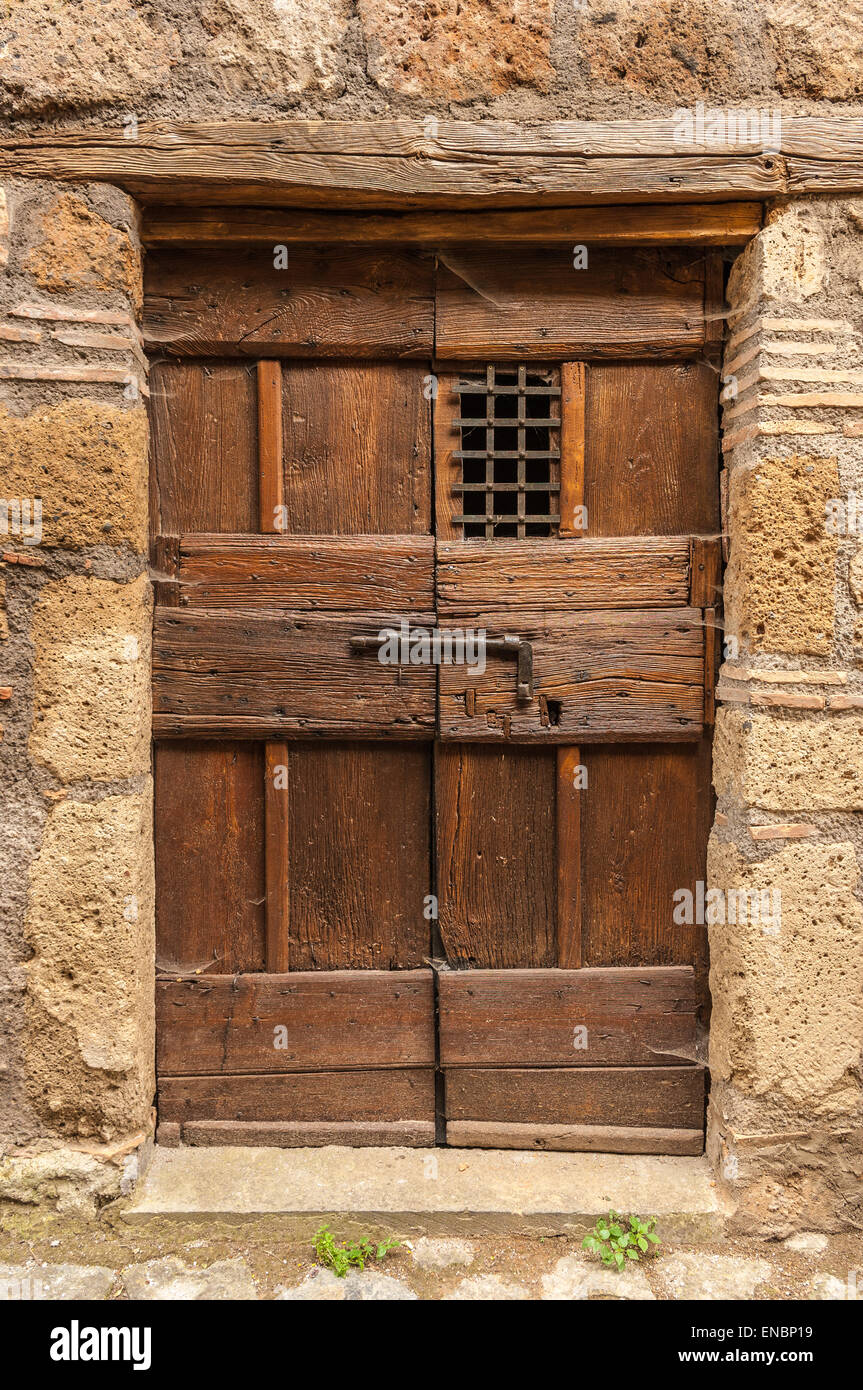 Stone Front entrance rustic tuscan door & Stone Front entrance rustic tuscan door Stock Photo Royalty Free ...