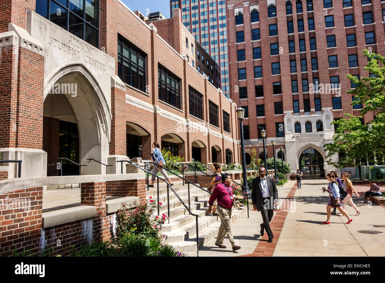 Chicago Illinois Near North Side Moody Bible Institute ...