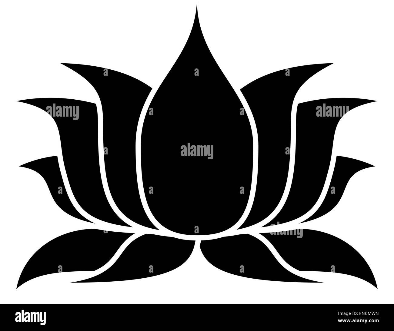 Image Gallery lotus flower silhouette