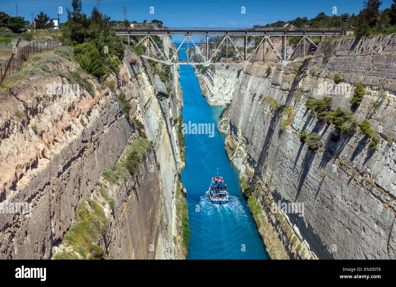 Corinth Canal Places of Tourist in The World