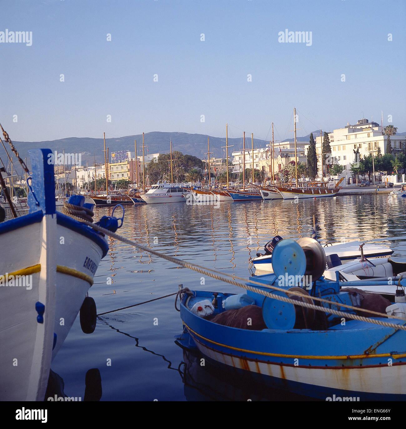 Segelyachten  Griechenland, Dodekanes, Insel Kos, Kos, Hafen, Segelyachten Stock ...