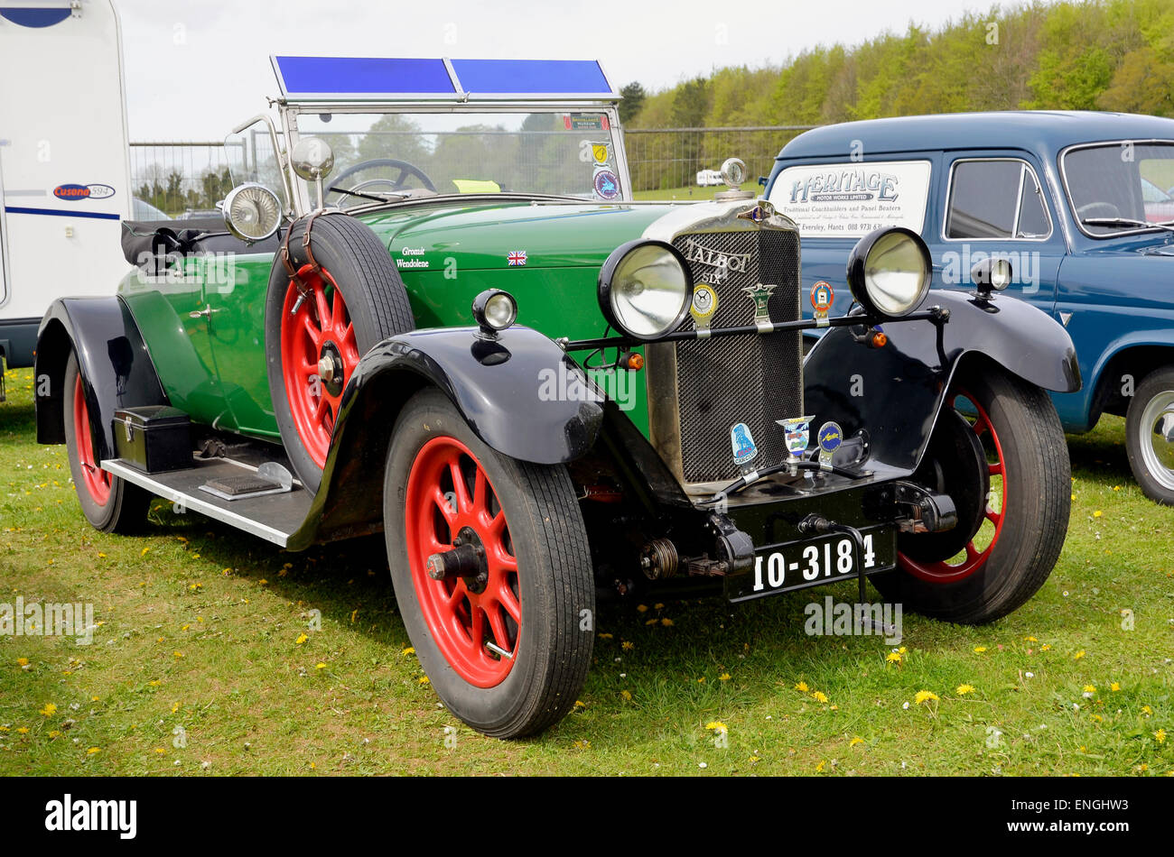 A classic British car - a 1929 Talbot 14/45 registration IO 3184 ...