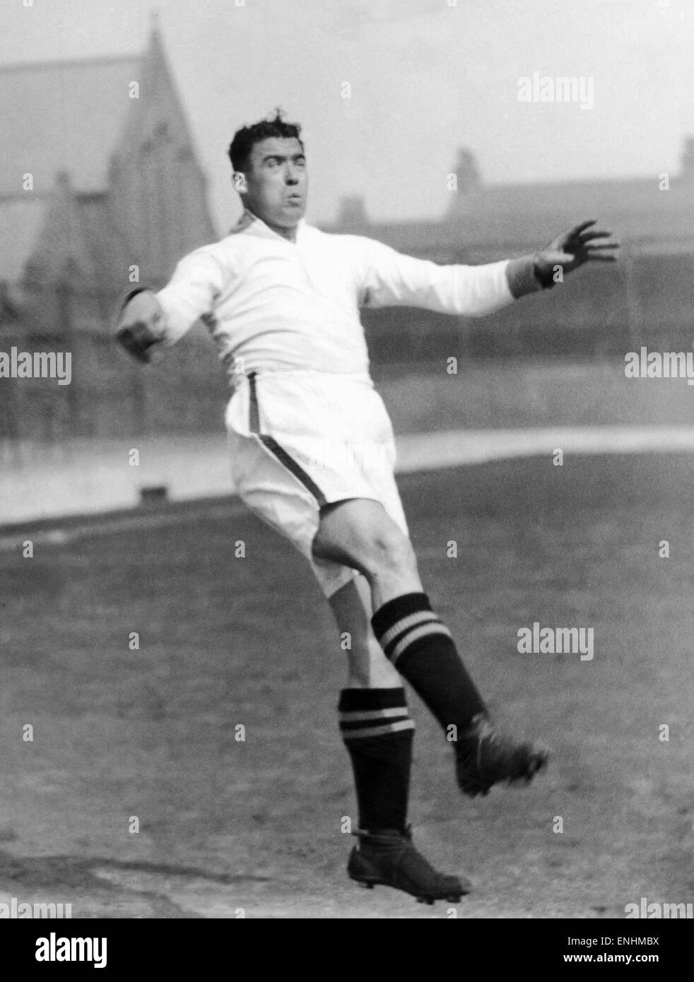 Everton footballer Dixie Dean who set a record when he scored 60