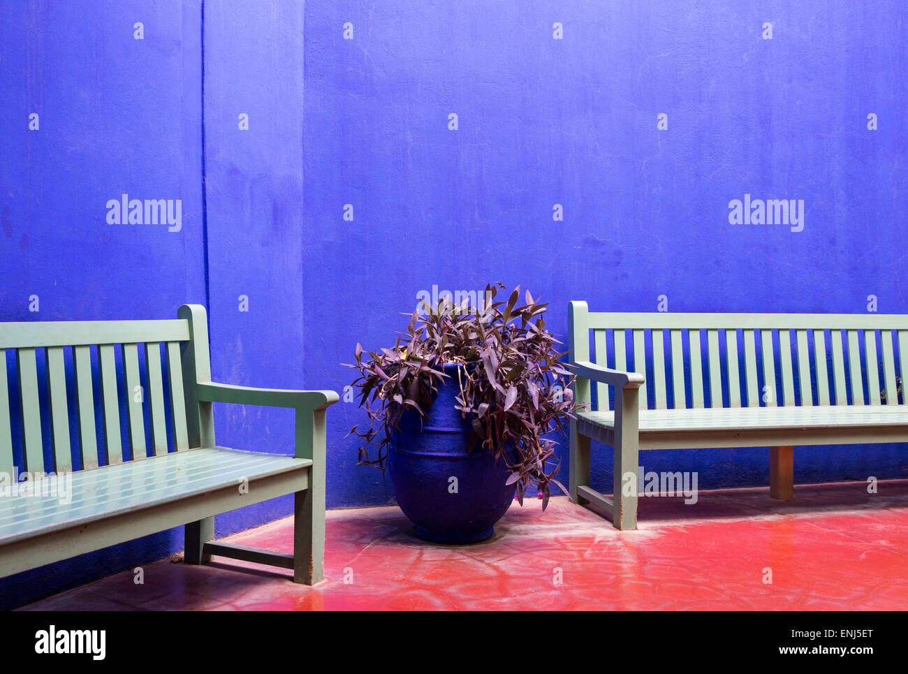 Morocco marrakech marrakesh jardin majorelle yves saint for Jardin yves saint laurent marrakech