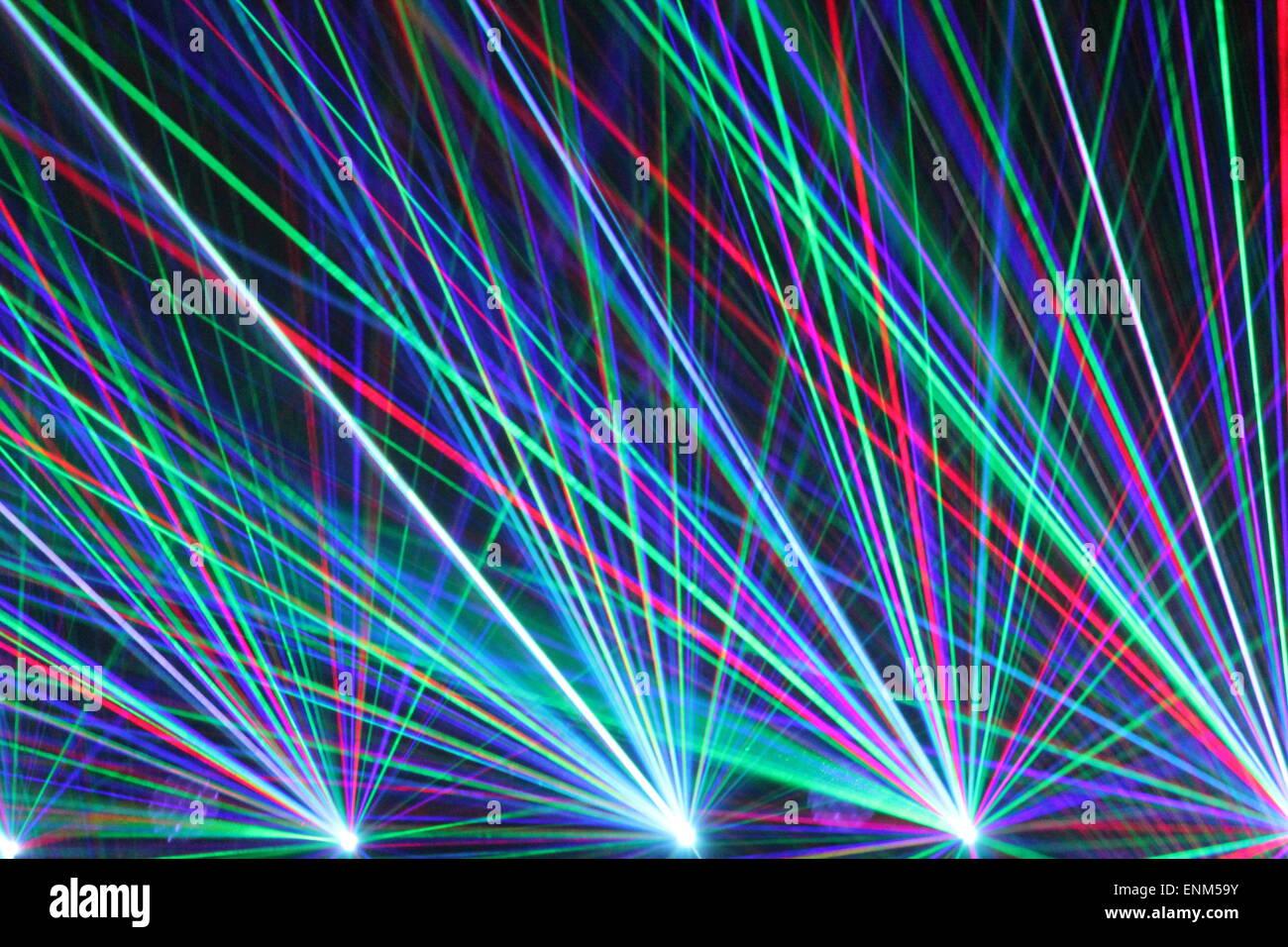 Laser lights in nightclub laser light club clubbing - Club lights wallpaper ...