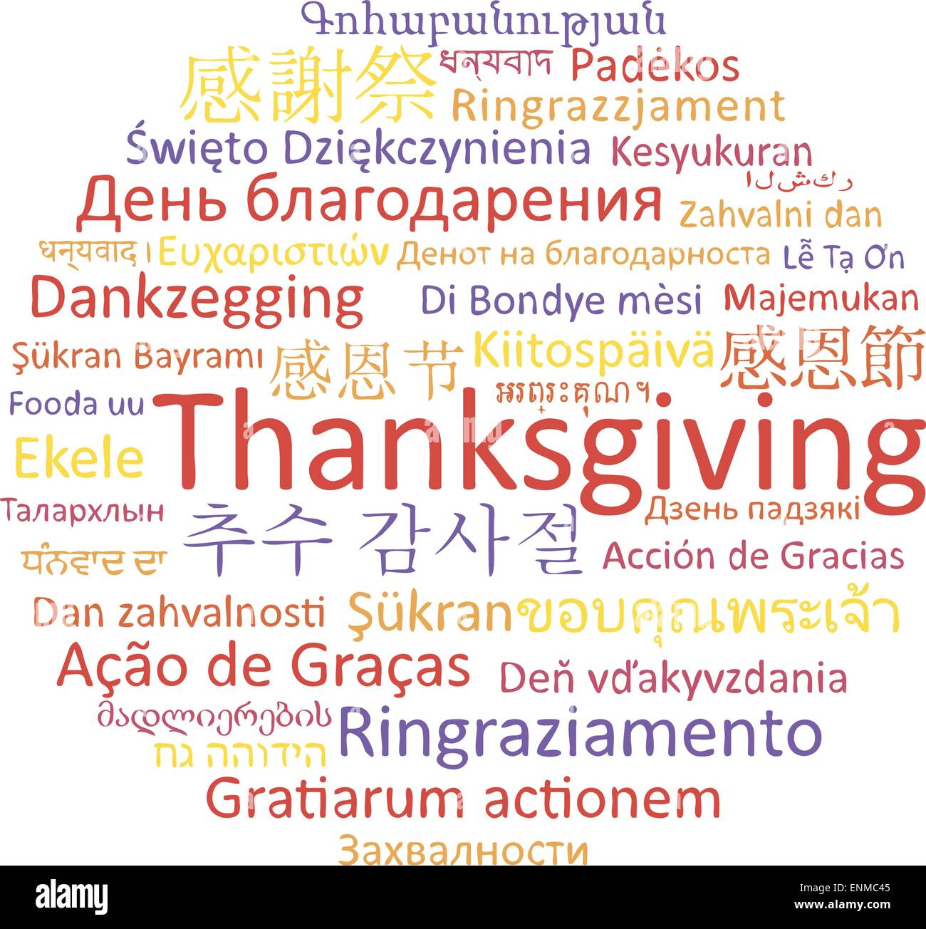 Thanksgiving Day Holiday Of The World Thanksgiving In Different - How many types of languages are there in the world