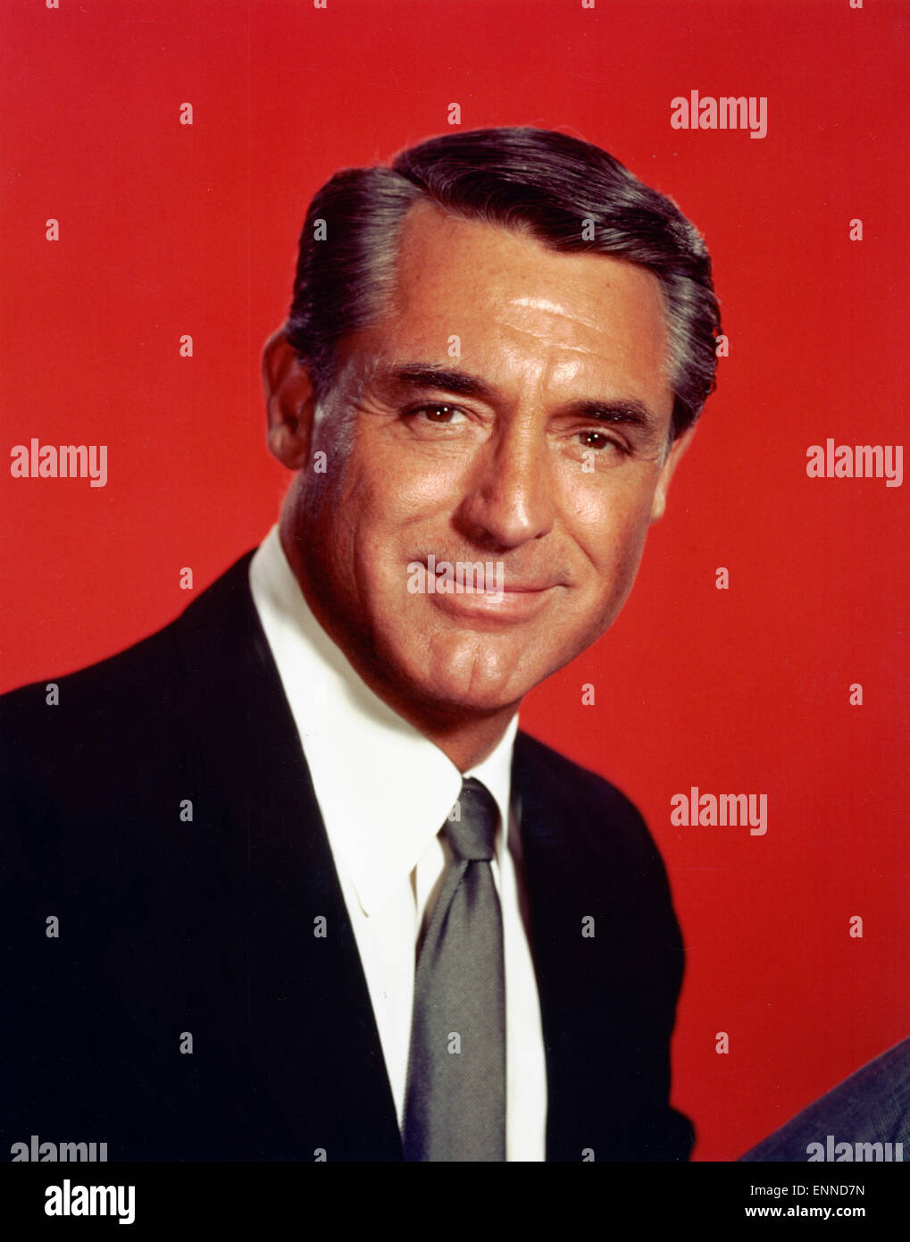 der amerikanische schauspieler cary grant ca ende 1950er jahre stock photo royalty free image. Black Bedroom Furniture Sets. Home Design Ideas