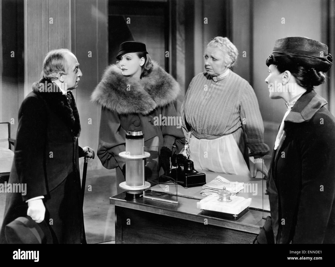 grand hotel usa 1932 aka menschen im hotel regie edmund stock photo royalty free image. Black Bedroom Furniture Sets. Home Design Ideas