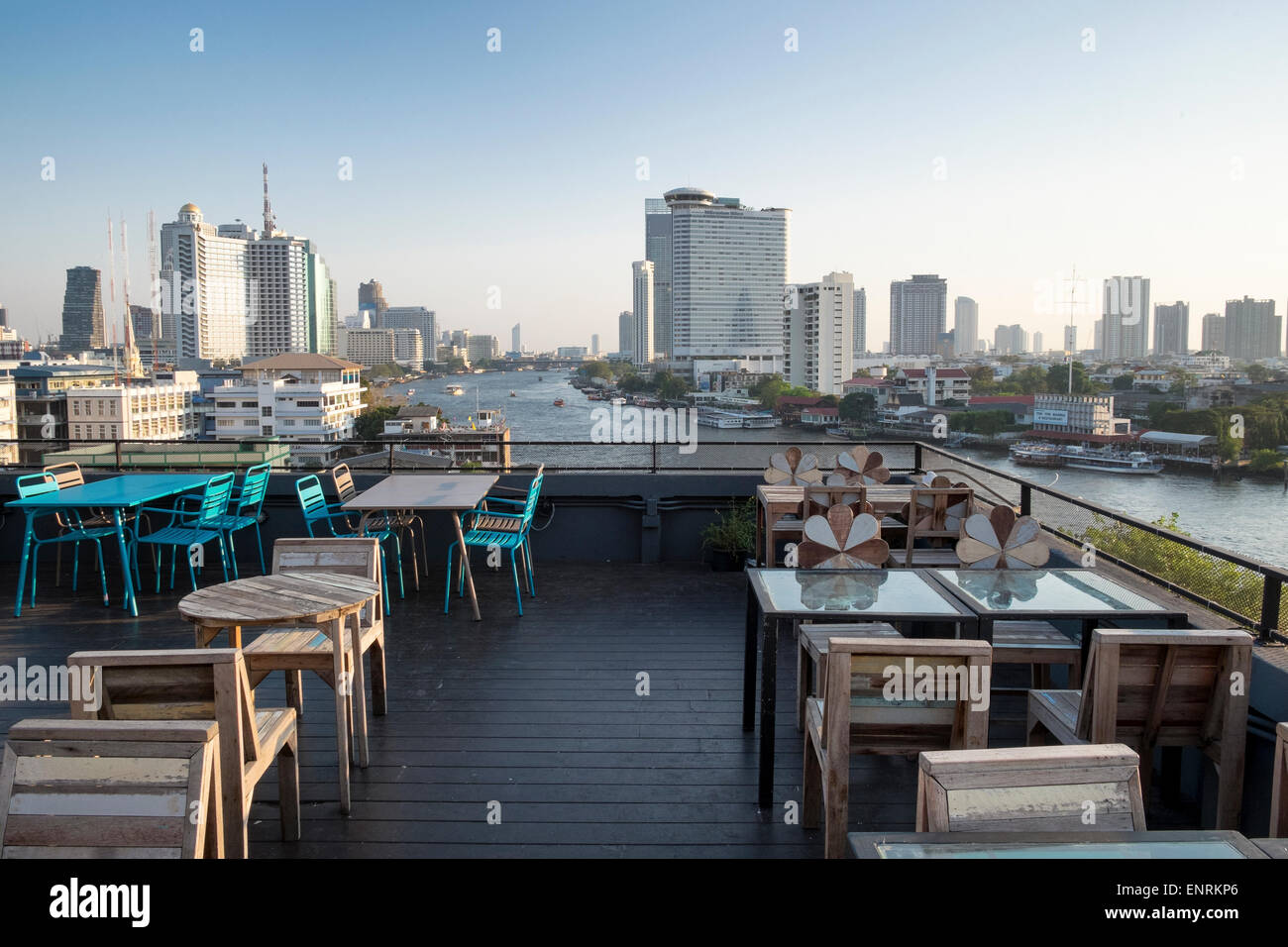 Rooftop Bar And Restaurant Of The River View Guest House