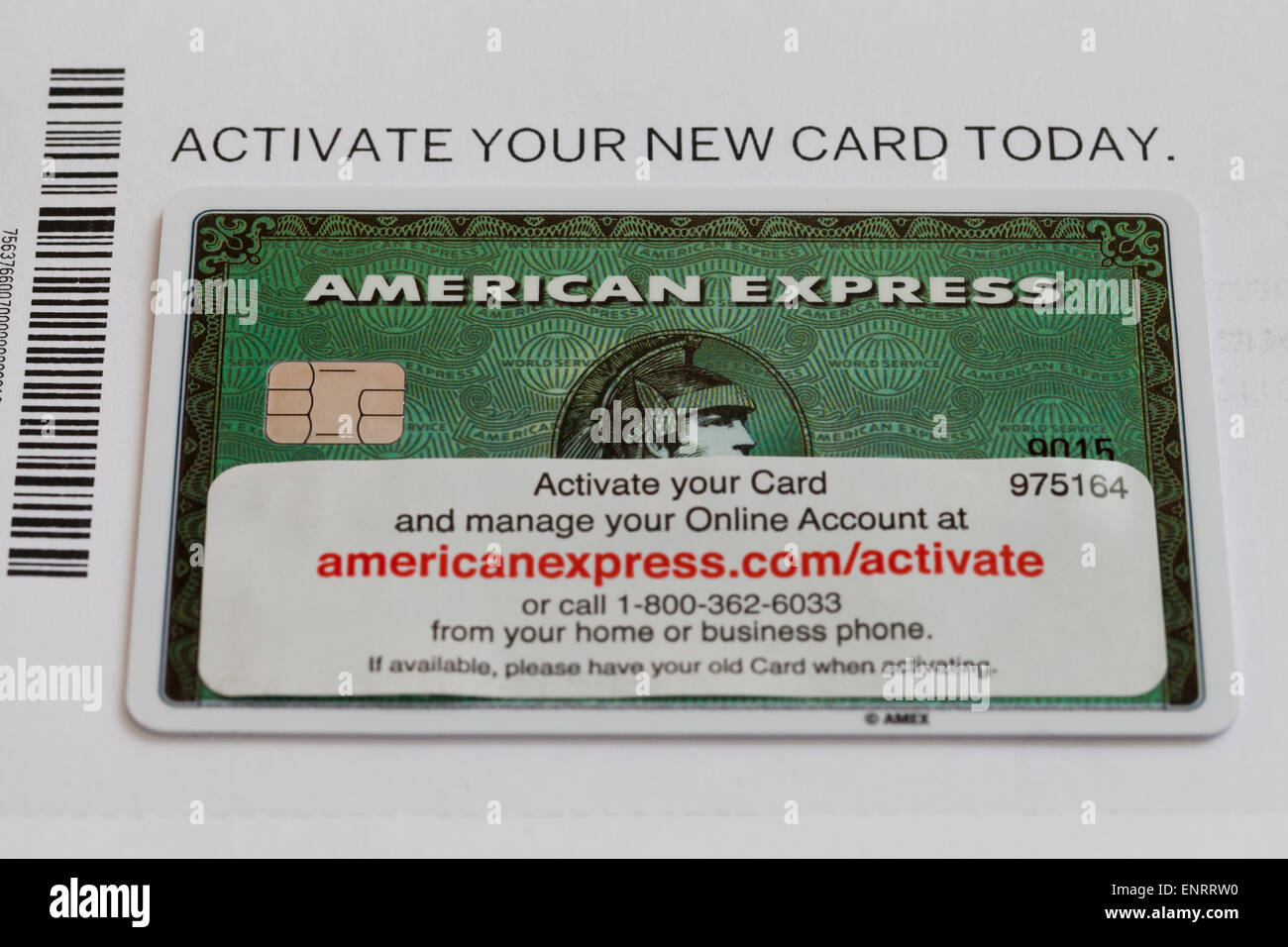 Credit cards american express amex gold business card stock new american express card with activation information usa stock photo magicingreecefo Choice Image