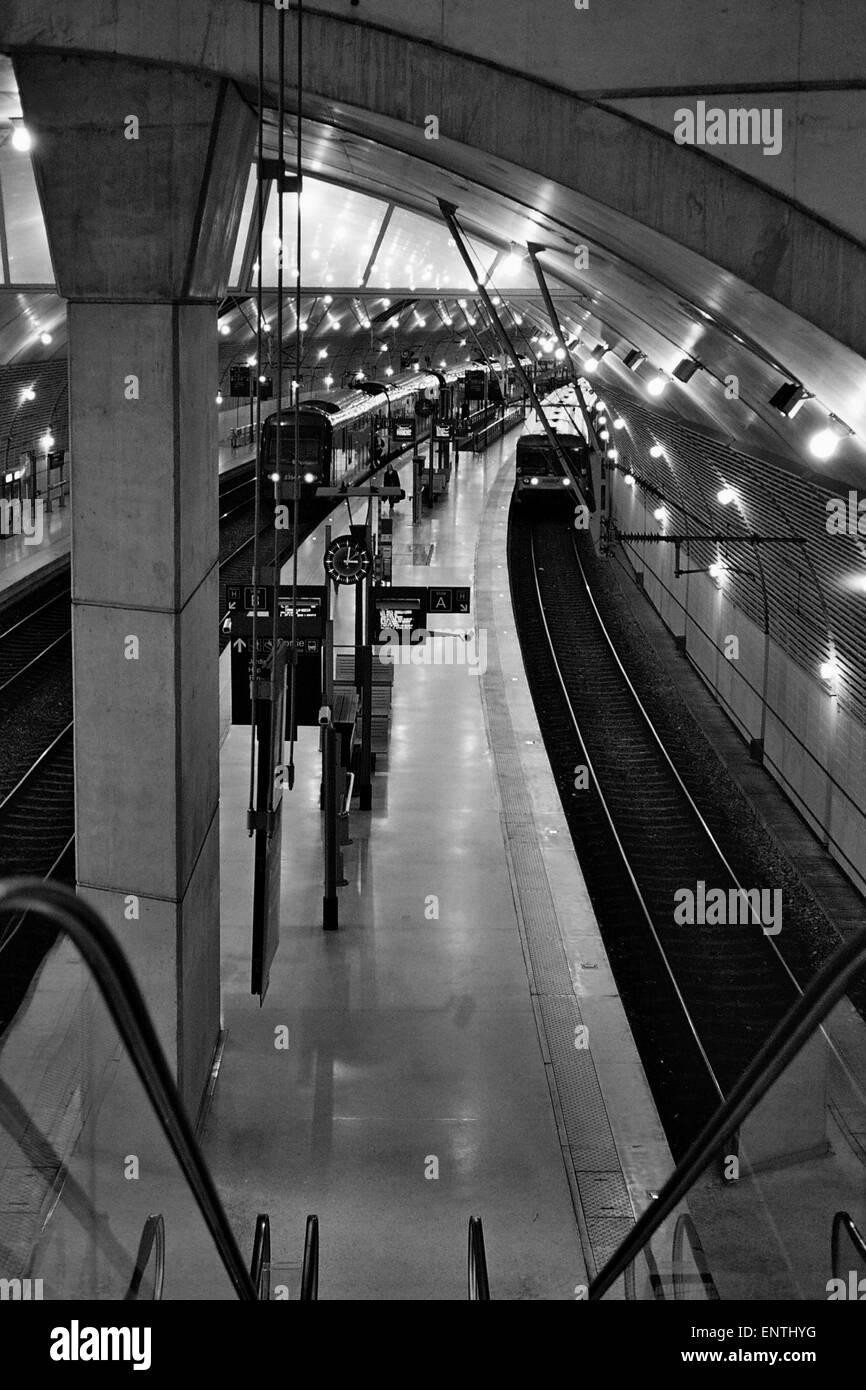 AJAXNETPHOTO. MONTE CARLO, MONACO. - RAILWAYS - UNDERGROUND TRAIN ...