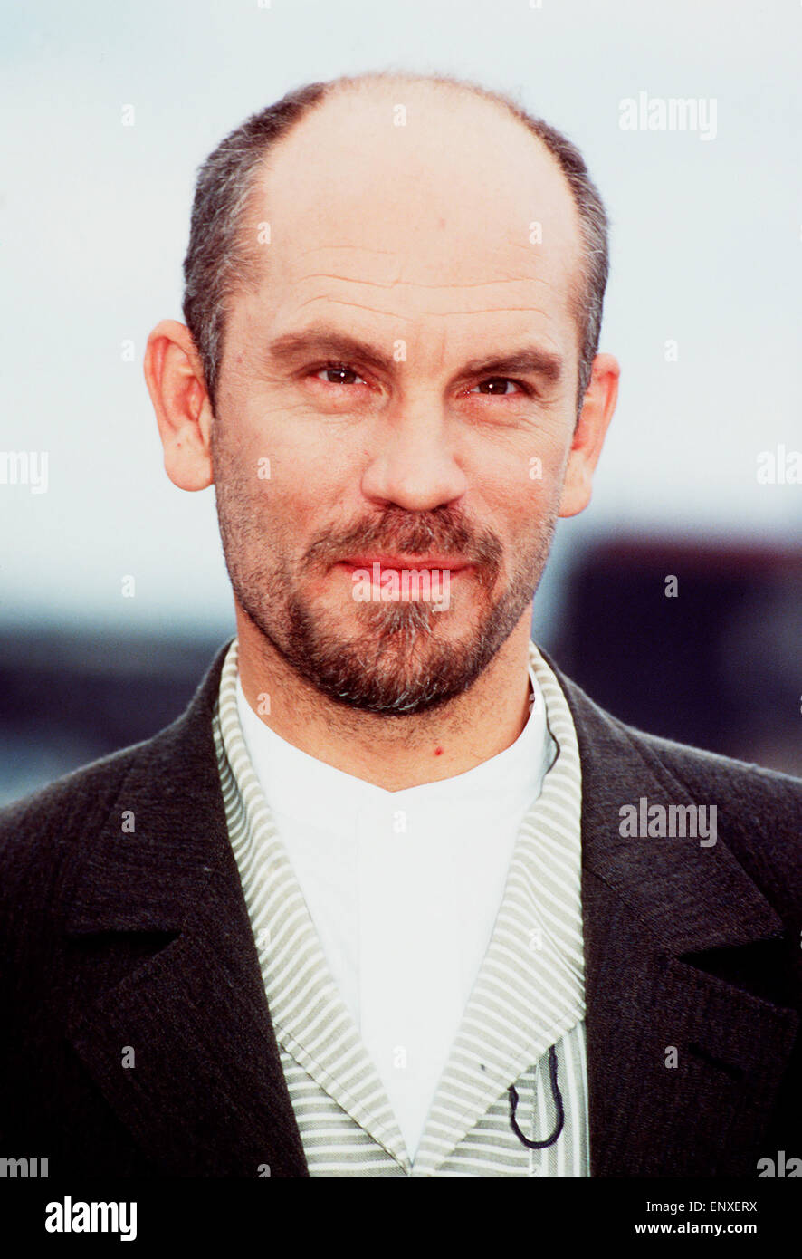 der amerikanische schauspieler john malkovich portrait 1990er stock photo royalty free image. Black Bedroom Furniture Sets. Home Design Ideas