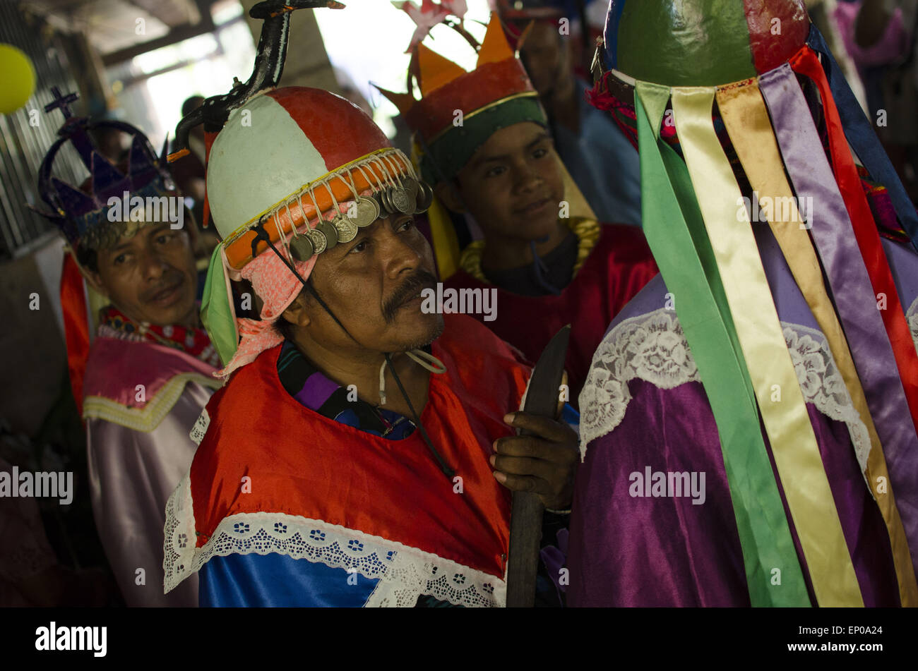 Panchimalco san salvador el salvador 10th may 2015 members of panchimalco san salvador el salvador 10th may 2015 members of the historiantes perform a traditional dance on may 10 2015 residents and visitors sciox Gallery