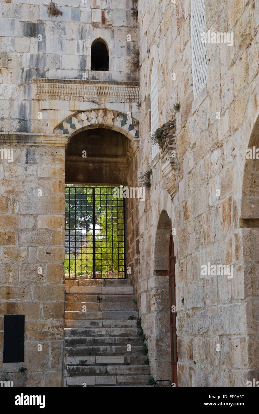 Isa Bey Mosque Barred Door Selcuk Turkey & Isa Bey Mosque Barred Door Selcuk Turkey Stock Photo: 82371936 ...