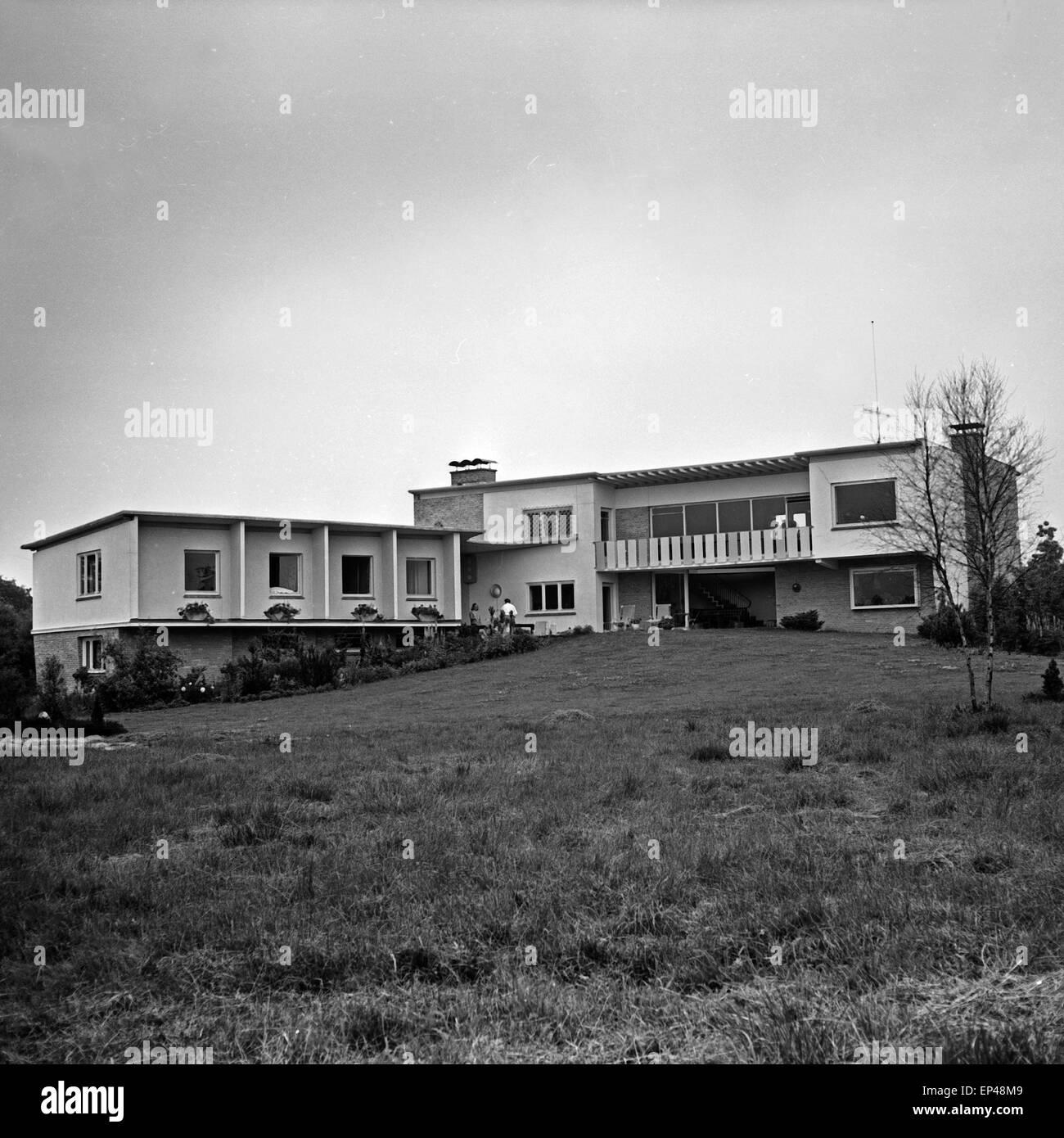 Das Haus Von Peter Frankenfeld Auf Dem Grundst 252 Ck Des