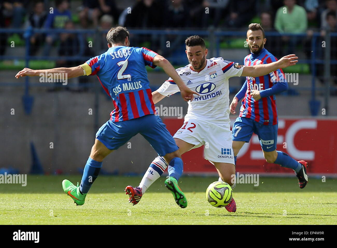 Corentin TOLISSO Nicolas SEUBE 09 05 2015 Caen Lyon