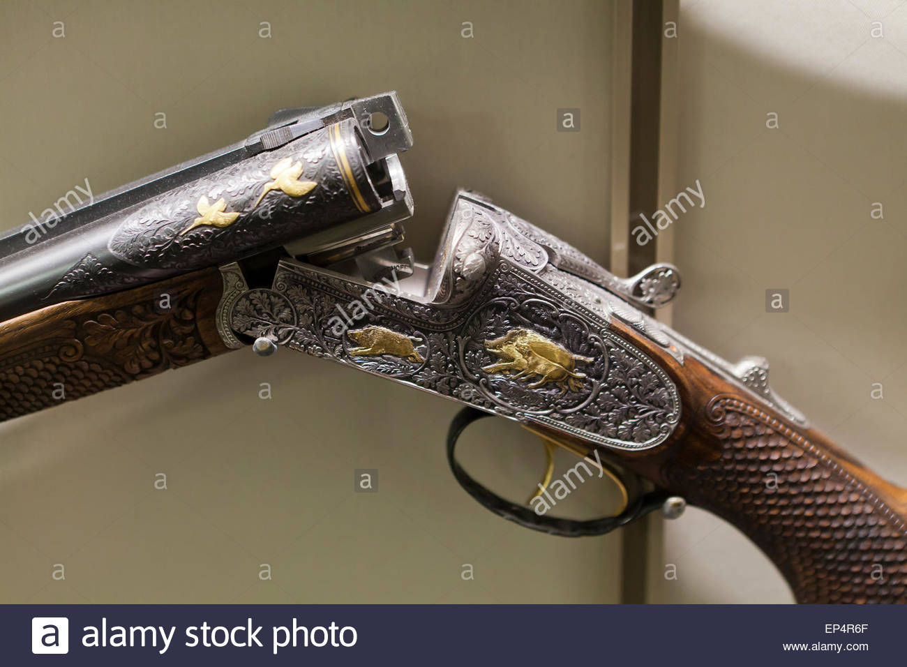Krieghoff Drilling Combination Rifle And Shotgun At National - Gun museums in usa