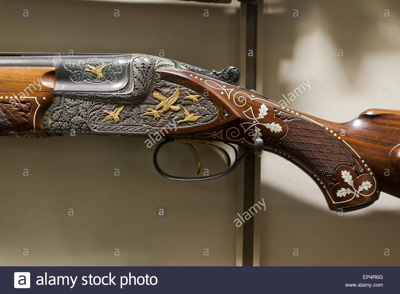 Merkel Overunder Shotgun At National Firearms Museum Fairfax - Gun museums in usa