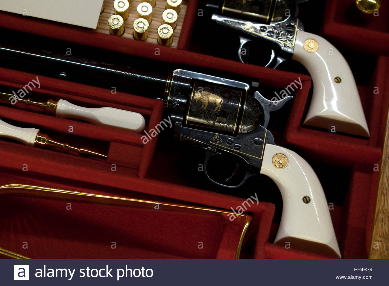 Colt Single Action Revolvers Ca  At National Firearms Museum - Gun museums in usa