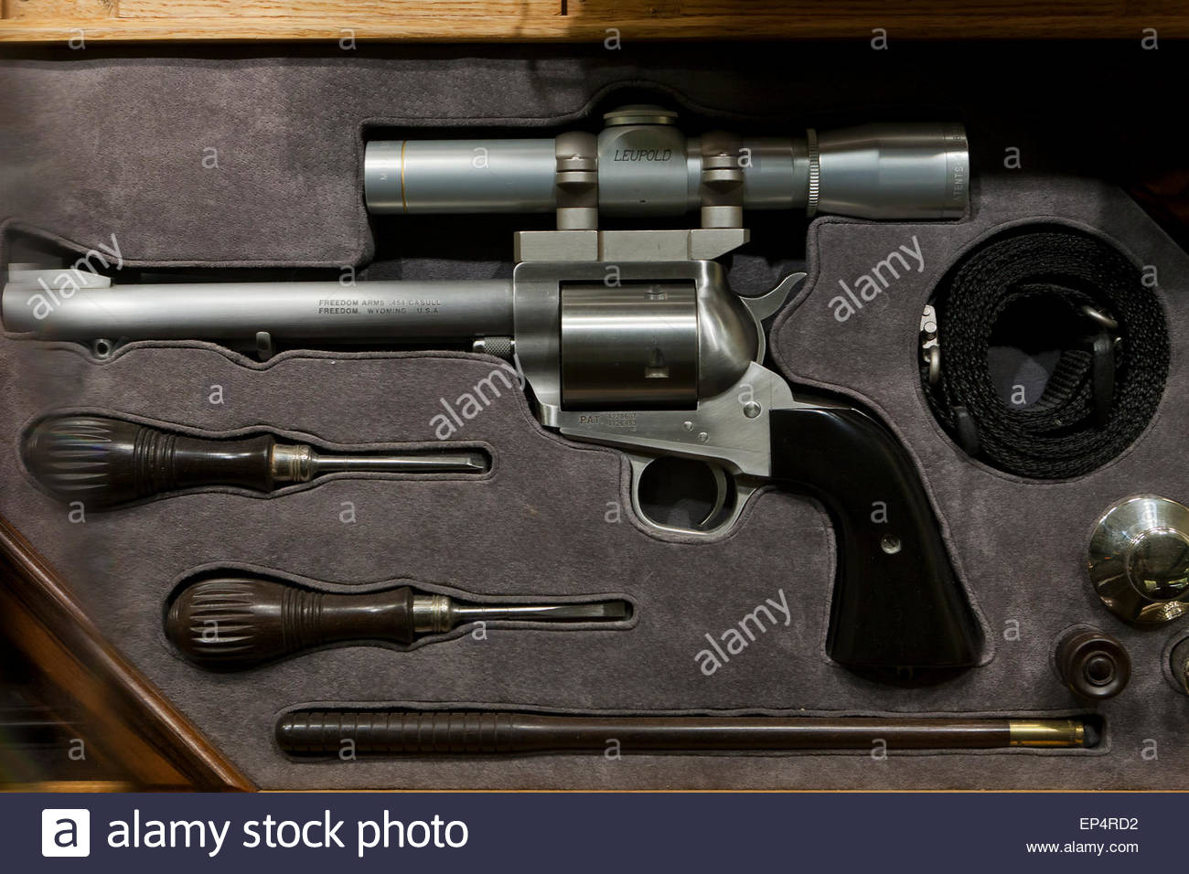 Freedom Arms  Casull Revolver At NRA Museum Fairfax Virginia - Gun museums in usa