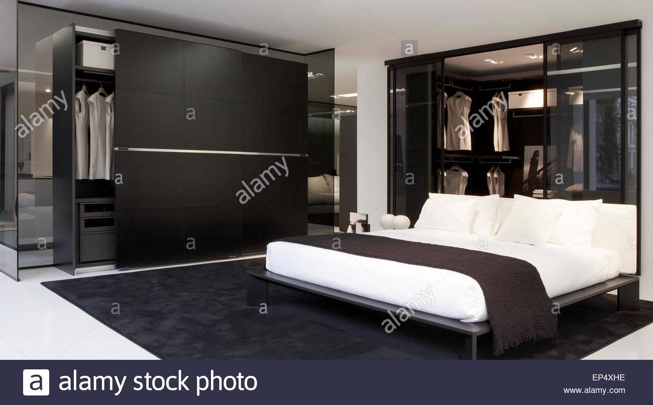 Bedroom area poliform showroom london london united kingdom stock photo royalty free image - Poliform showroom ...
