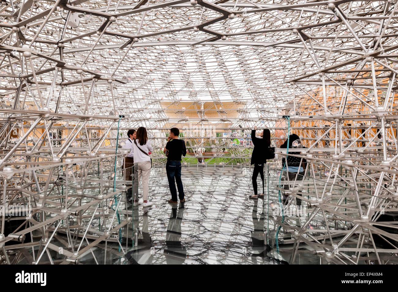 Best Stands Expo Milan : Interior pavilion platform milan expo uk