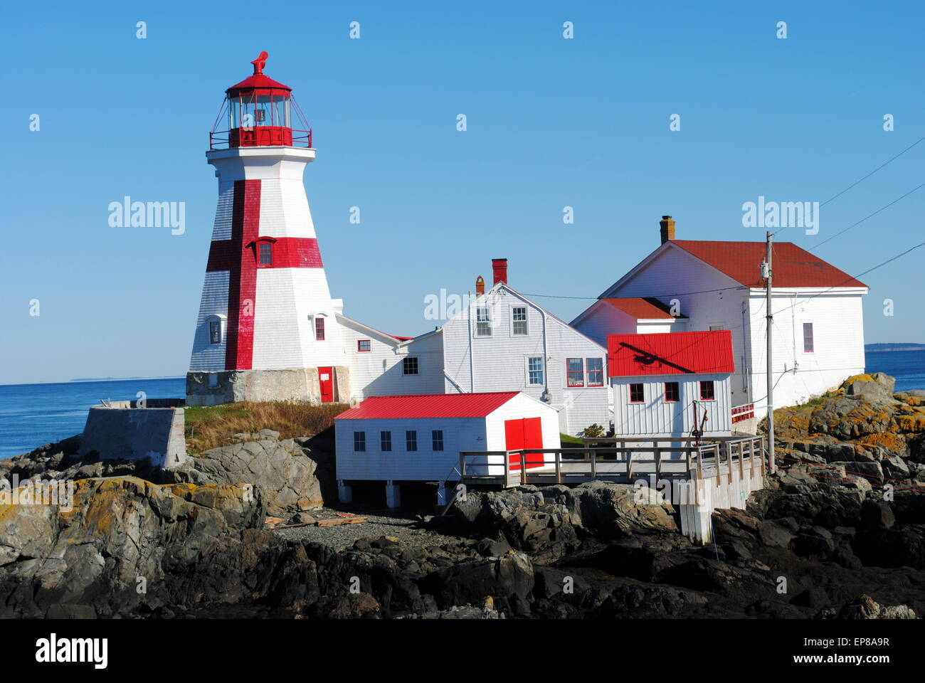East Quoddy Head Lighthouse (aka Head Harbor Lighthouse