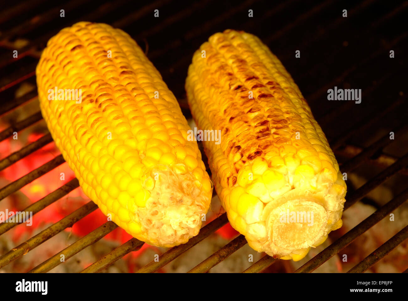 how to cook corn on the cob on the fire