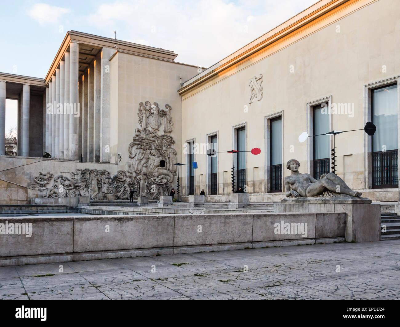 Musee d 39 art moderne de la ville de paris museum of modern art stock photo royalty free image - Musee d art moderne strasbourg ...