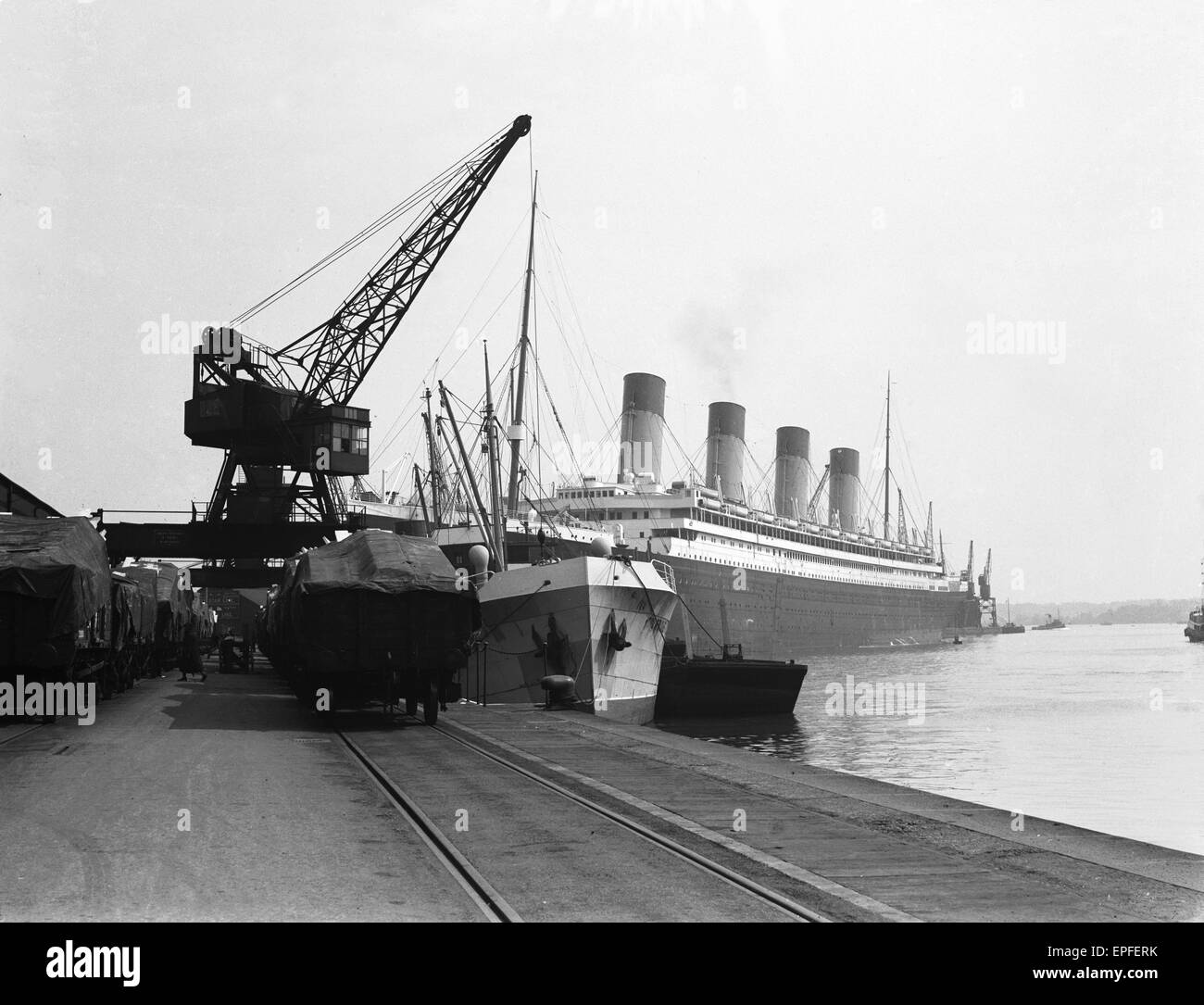 Rms Olympic: White Star Line Liner RMS Olympic, Sistership Of The Ill
