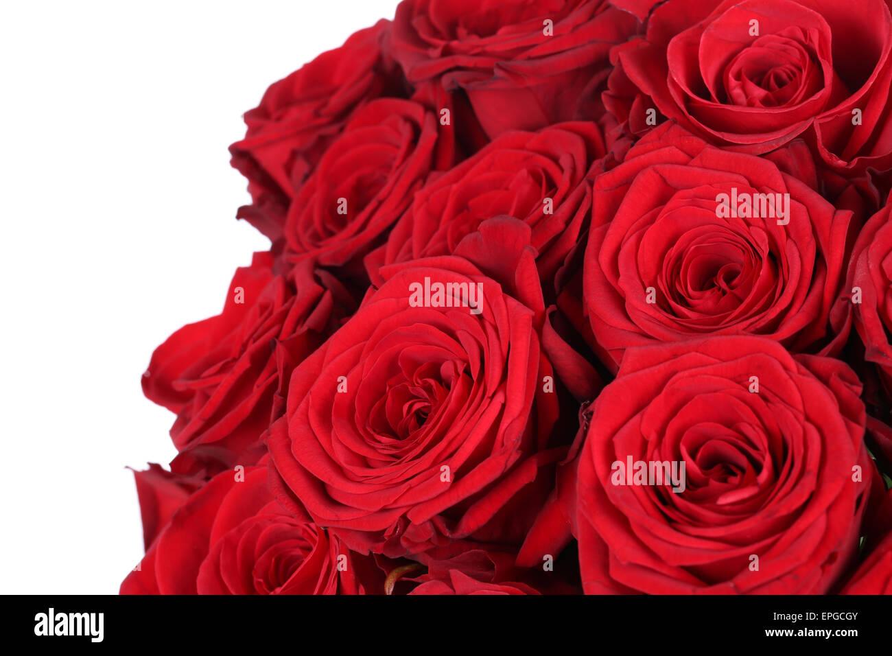 Strauß Rote Rosen Zum Valentinstag Oder Muttertag