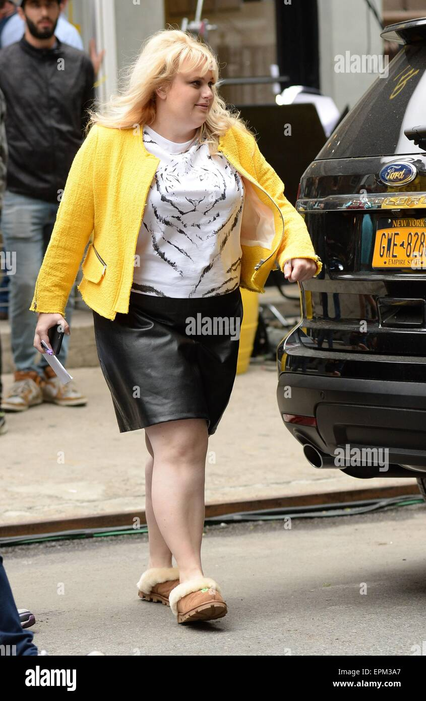 Rebel wilson on location for how to be single film shoot rebel wilson on location for how to be single film shoot manhattan new york ny may 18 2015 photo by kristin callahaneverett collection ccuart Images