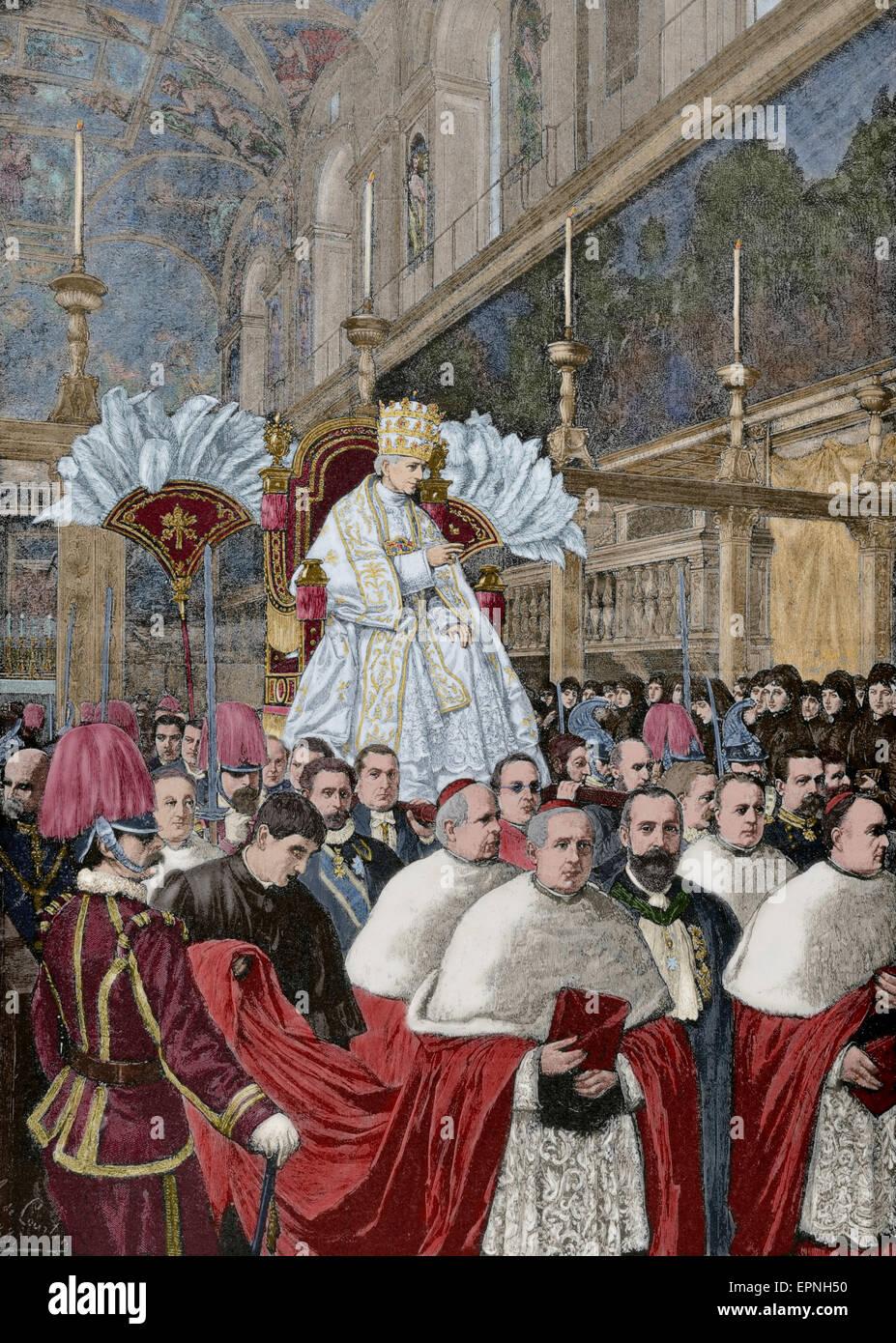 leo xiii 1810 1903 italian pope 1878 1903 named. Black Bedroom Furniture Sets. Home Design Ideas