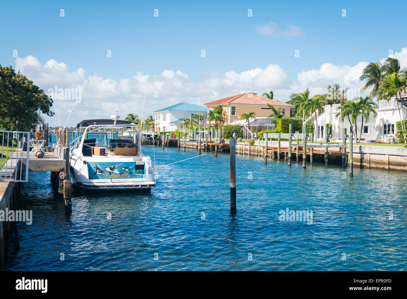 florida houses on the water. florida palm beach west typical intercostal waterway house water speed fishing boat lil general moored by jetty houses on the 0